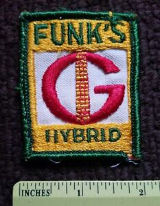 Vintage FUNKS G Hybrid Seed Corn JOHN DEER IH INTERNATIONAL HARVESTER PATCH