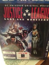 Target Exclusive Justice League: Gods and Monsters Blu-ray Disc 2015 Steelbook