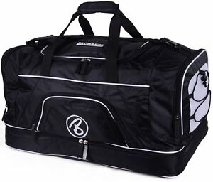 """BRUBAKER """"Big Base"""" XXL Gym Bag with Shoe Compartment - 25 Inches - Sports Bag"""