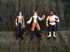 Lot Of 3 Pirates and Skeleton Figure