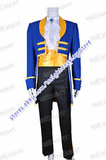 Beauty And The Beast Prince Adam Cosplay Costume Uniform Halloween Party