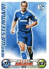 273 Heiko Westermann - FC Schalke 04 - TOPPS Match Attax 2009/2010
