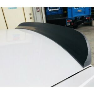 Flat Black 495 FG PUF Rear Trunk Spoiler Wing For 05~10 Infiniti M35 M45 Sedan
