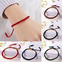 Homemade Multi-color Rope Kniting Bracelet Fashion Jewelry Lucky Gift Friendship
