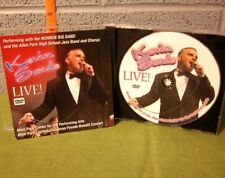 KEVIN SANDS Live crooner DVD cabaret Detroit big band standards Michigan 2008