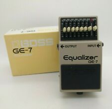 Pedal BOSS GE-7 Equalizer + Box