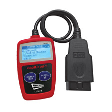 Streetwize Garage Vehicle LED ODBII Engine Fault Code Scanner Diagnostic Reader