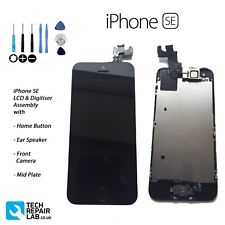 NEW iPhone SE Retina LCD & Digitiser Touch Screen Fully Assembled w/Parts BLACK