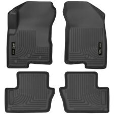 HUSKY WeatherBeater Floor Mats for 07-17 Jeep Compass Patriot Front & Back 4 pcs