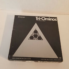1968, Vintage, Tri-Ominos, The Triangle Game, 100% Complete, Box worn condition