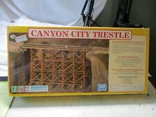MIDWEST PRODUCTS CANYON CITY TRESTLE. KIT # 3051. NEW- SEALED . ALL WOOD CONSTRU