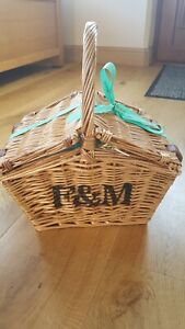 Fortnum And Mason F&M Huntsman Picnic Hamper Wicker Basket