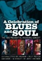 STEVIE RAY & VAUGHAN,JIMMIE VAUGHAN - A CELEBRATION OF BLUES AND SOUL  DVD NEW+