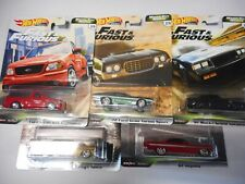 REAL RIDERS FAST & FURIOUS HOT WHEELS 1:64