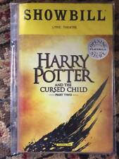 Harry Potter and the Cursed Child playbill/Showbill Parts 1 + 2 Opening Night NY