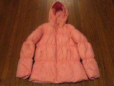 Girls Polo Ralph Lauren Puffer Down Fill Pink Coat Jacket sz L (12-14)
