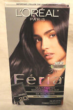 L'OREAL PARIS FERIA SHIMMERING HAIR COLOUR CHOOSE FROM #20, #36, #V48, FREE SHIP