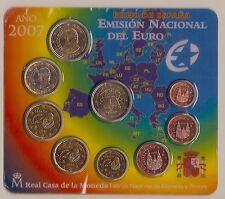 ESPAÑA 2007 CARTERA EUROS OFICIAL FNMT