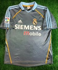 REAL MADRID 2003/2004 THIRD FOOTBALL SOCCER CAMISETA JERSEY ADIDAS BOYS SIZE XL