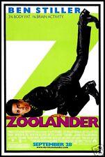 Zoolander FRIDGE MAGNET 6x8 Ben Stiller Magnetic Movie Poster Canvas Print