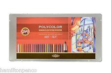 KOH-I-NOOR 3896 POLYCOLOR ART Set-COLORATO lead, FRIZIONE matite e Grafite!