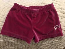 Euc girls Medium Gk Elite Pink gymnastics shorts
