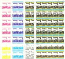 1912 GER/LNER Class B12 Train Progressive Proof 50-Stamp Sheets x 8 (Imperf)