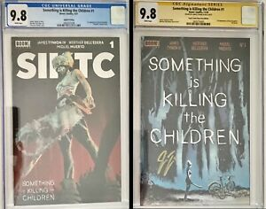Something Is killing the Children 1 CGC SS 9.8 James Tynion and Cgc 9.8