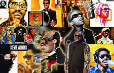 STEVIE WONDER Collage Poster