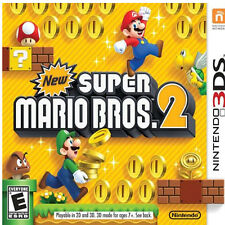 New Super Mario Bros. 2 Nintendo 3DS Full Game  Download Card/Code. US Version