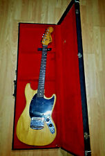 Vintage USA 1978 Fender Mustang Electric Guitar in original Case OHSC UNMESSED