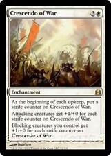 CRESCENDO OF WAR Commander 2011 MTG White Enchantment RARE