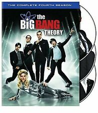 New Sealed! The Big Bang Theory: Complete Fourth Season (Dvd, 2011, 3-Disc Set)