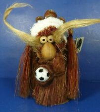 "Neta Arensbak Hand Made Fem Soccer Troll W/ Ball 5 Arts Studio 6"" w/ Tag Usa Euc"