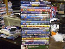 (31) Children's Animal DVD Lot: Disney Monsters, Inc  Brother Bear Babar  & MORE