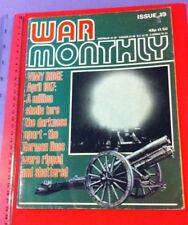 War Monthly Issue 19 published monthly by Marshall Cavendish.1975