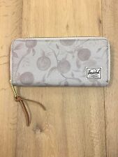 *NWT* HERSCHEL Supply Co. AVENUE Zip Wallet GREY ORCHARD