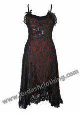 FANTASTIC JORDASH DARK STAR GOTHIC POLYSILK/LACE DRESS FREESIZE BRAND NEW