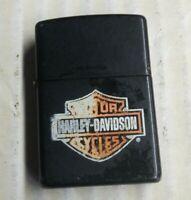 Harley Davidson Zippo Lighter Black