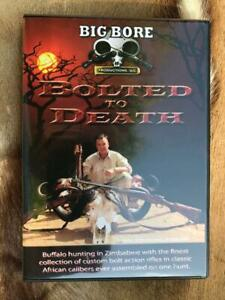Bolted to Death African Hunting DVD by Big Bore Productions