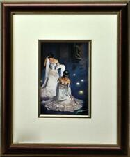 Jia Lu art hand signed and gallery custom framed - excellent