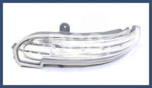 Genuine Mercedes W203 Left driver Door Mirror Housing Turn Signal Light LED OEM