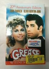 Grease VHS 20th Anniversary Edition Includes CD, Script, Lyrics, etc **BRAND NEW