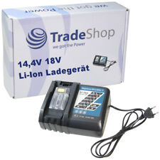Trade-Shop Akku Ladegerät 14,4V-18V Li-Ion für Makita LXT400 XRU02Z BL1845