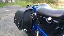 ARES BLACK Satteltaschen Set schwarz Seitentaschen Harley Davidson street bob
