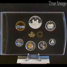 2018 - Canadian Classic Colourised Proof Pure Silver 6-Coin Set with Medallion