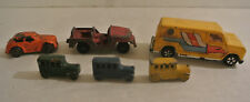Vintage ESTATE LOT Metal TOY CARS Antique CRACKER JACK Prize Tootsietoy Jeep +