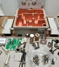 Industrial Steampunk Telecom Parts RF Notch Filter Repurpose Copper Interior