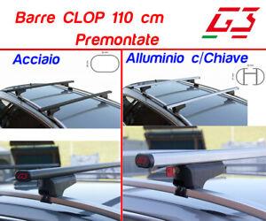 Barre Portatutto Portapacchi MINI COUNTRYMAN 2016> G3 CLOP 110 ACCIAIO