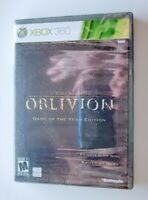 The Elder Scrolls IV Oblivion Game Of The Year Edition Xbox 360 New Sealed